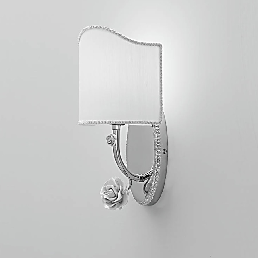 L3222, Wall lamp with decorations in the shape of a rose
