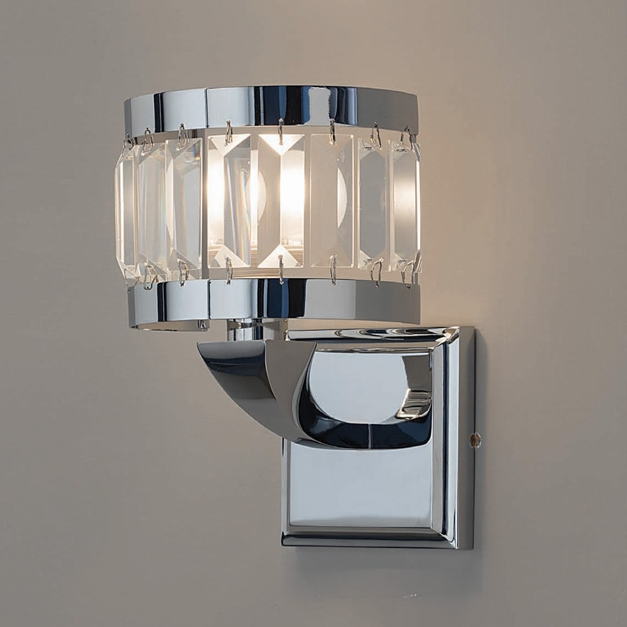 L3223, Wall lamp with crystal pendants