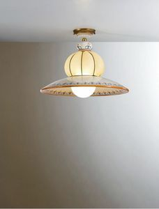 Nonna Vc196-026, Traditional ceiling lamp, decorated by hand