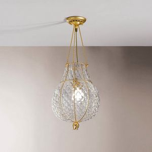 Odalisca Mc128-040, Luxurious ceiling lamp in Boloton crystal
