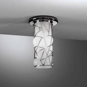 Orione Rc387-020, Ceiling lamp with a cylindrical shape