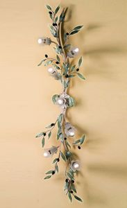 PL.6685/7, Wall lamp with an olive branch shape