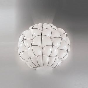 Pouff Ra383-035, Wall lamp in blown glass