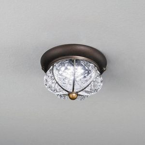 Raggio Mc378-010, Crystal ceiling light with the shape of a crown