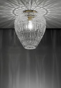 Reflex, Blown glass ceiling light