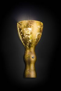SCHERZO L 16, Wall light in the shape of a goblet