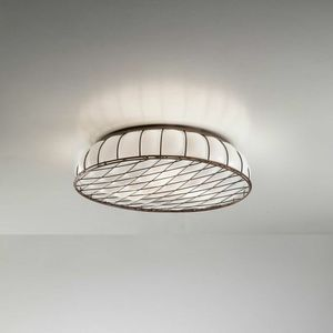 Soffice Mc441-010, Ceiling lamp with decorative metal grill
