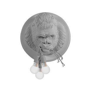 Ugo Rilla AP152, Lamp in the shape of a gorilla, made of ceramic