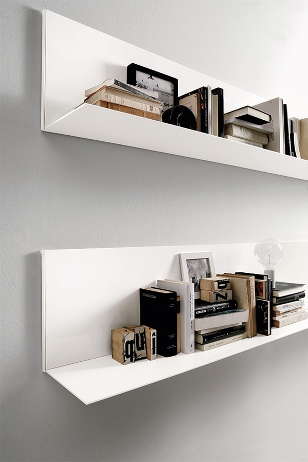 ALL comp.06, Shelf for living room, in aluminum, in simple style
