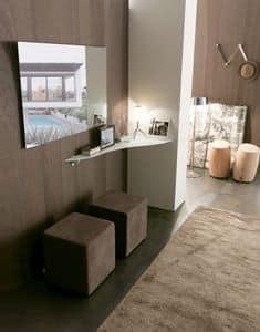 dl800 bonn, Glass design shelf for elegant homes