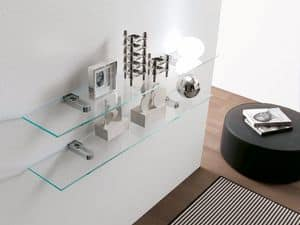 dl800 stoccolma, Shelf with modern design, for office