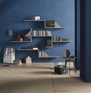 Lampo L5C55, Modular shelves
