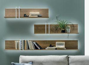 Ring, Wooden shelves