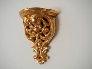 SHELF Art. AC 0037, Hand carved decorative shelf