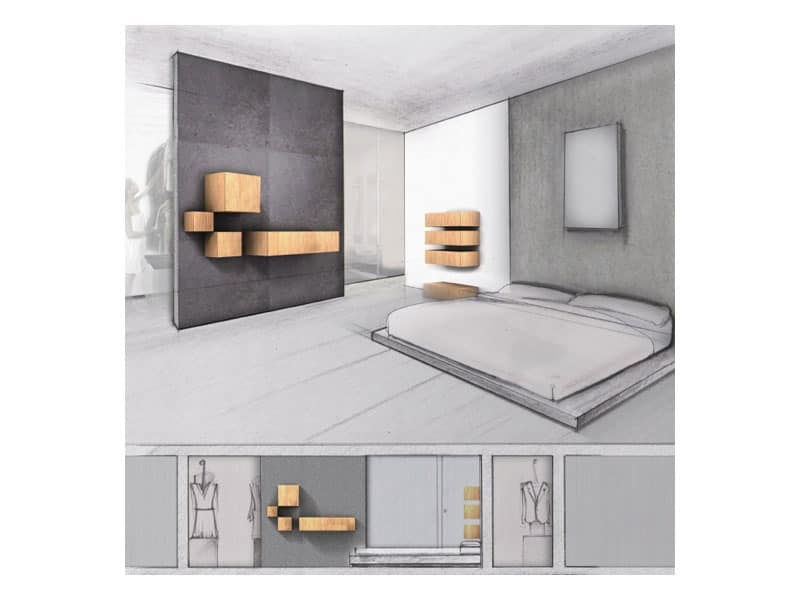 Trealcubo comp.03, Modular system for furniture