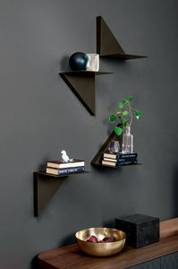VELA, Painted metal shelf