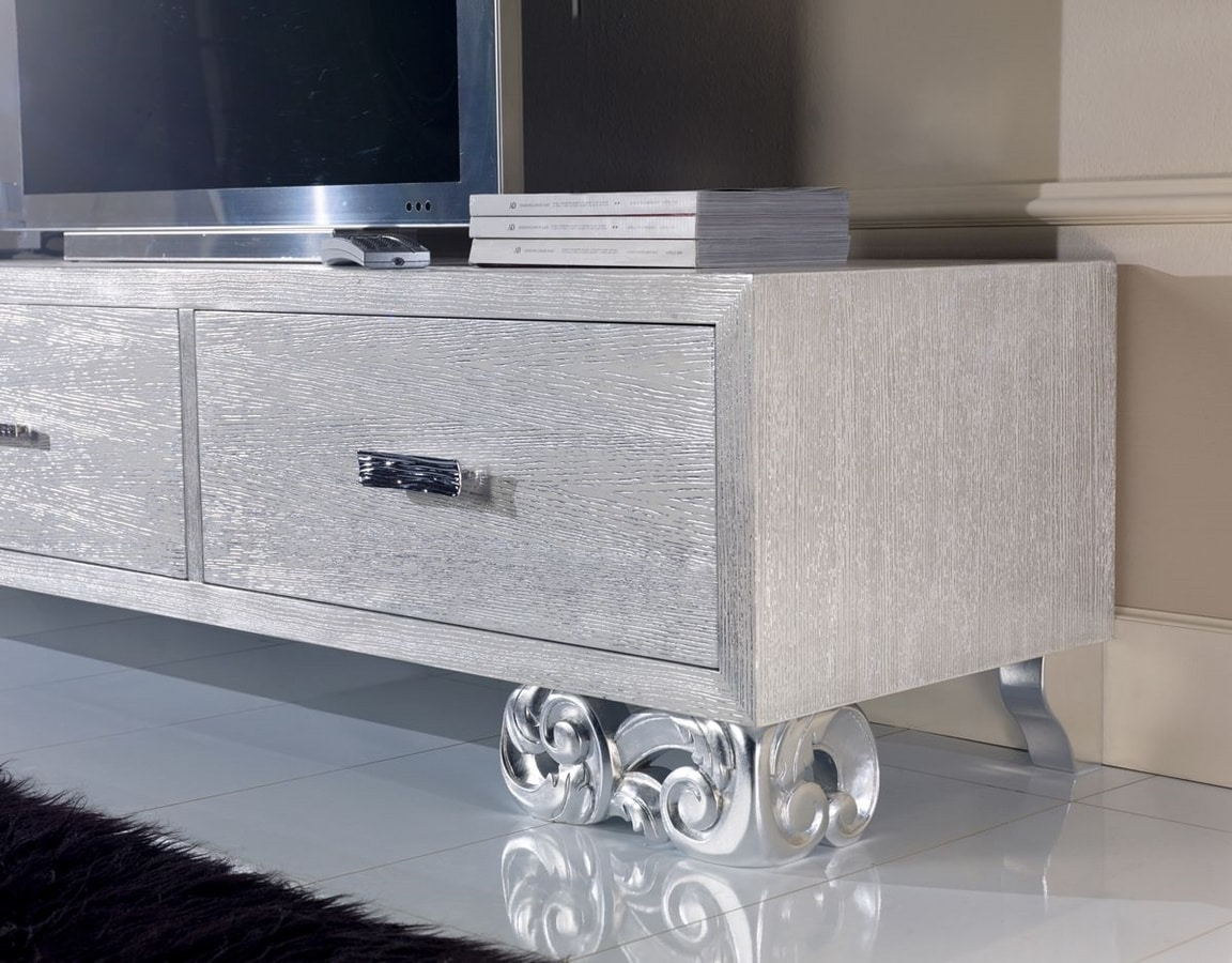 Allegra Living low cabinet, Low sideboard for living room