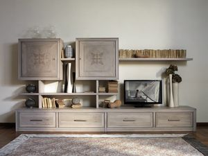 Ca' Venier Art. CV1030/D, Modular furniture for living room