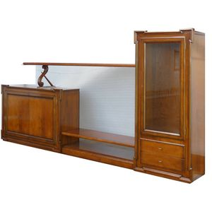 Cheope DU.0002.BU-0, Modular configuration with showcase and sideboard