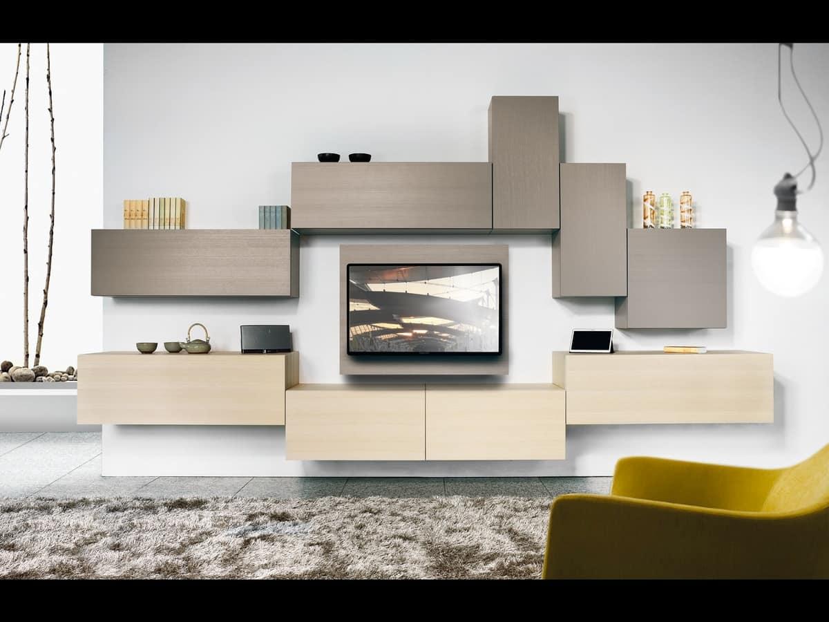 Climb Day 01, Modular system for modern living room