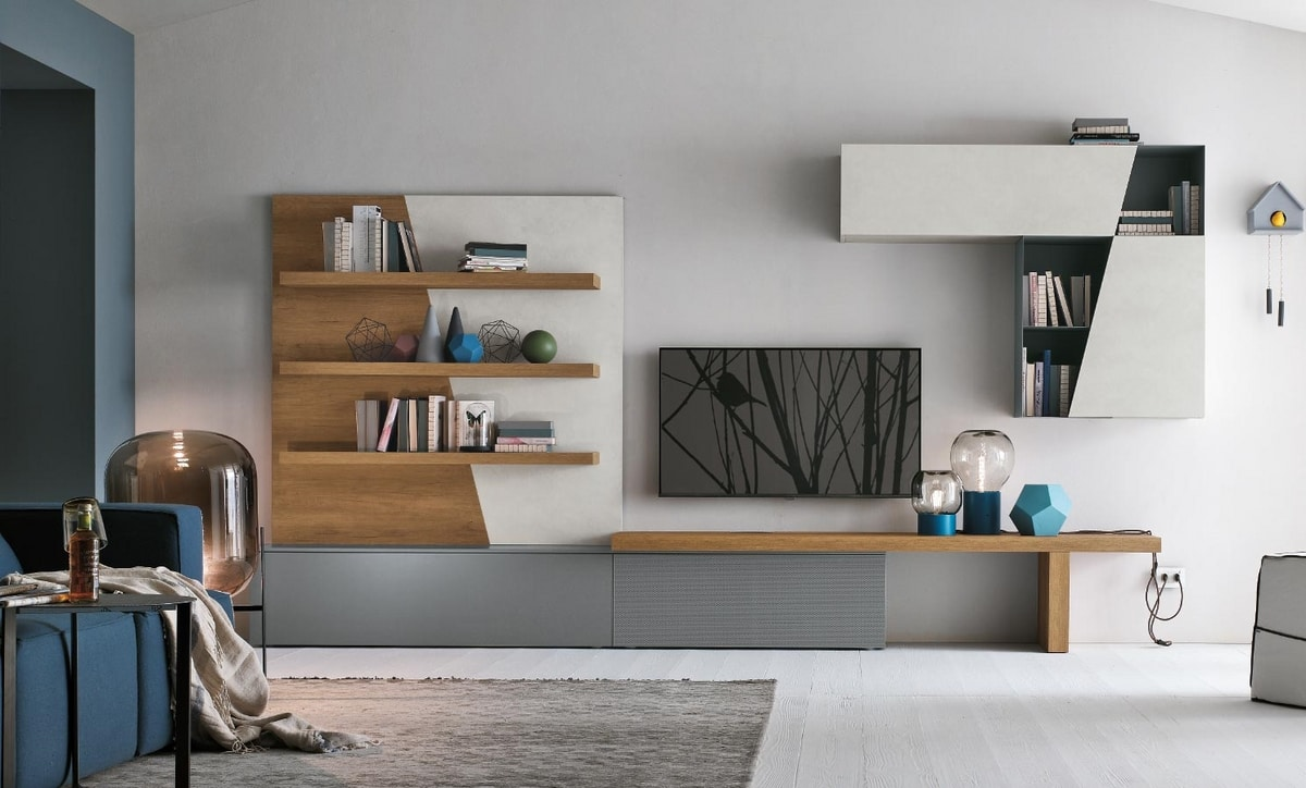 Comp. A064, Modular furniture for the living area