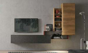 Comp. A073, Small wall unit for living room