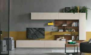 Comp. A081, Equipped wall for living room