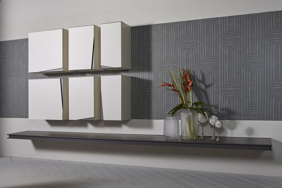 DAY comp.04, Modular wall unit for living room
