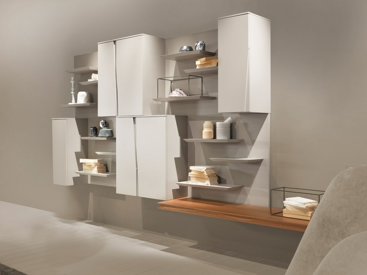 DAY comp.05, Modular system of wall units for living area