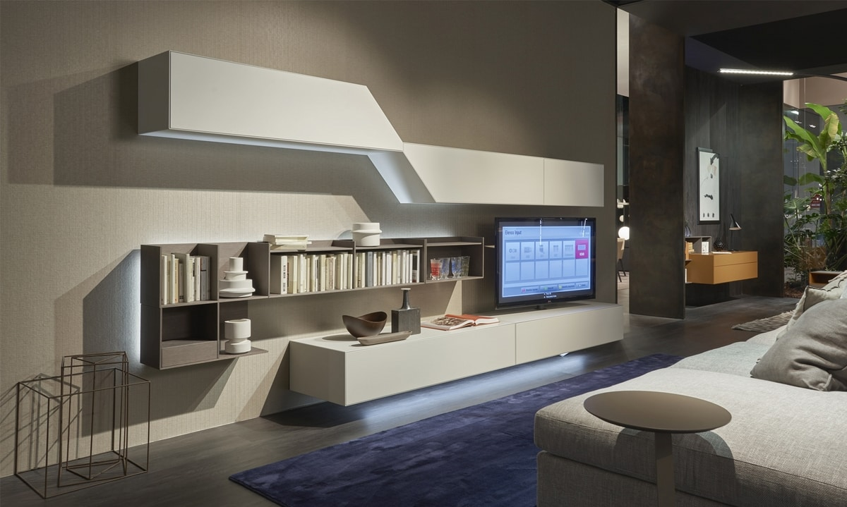 Domino Concept, Living room furniture with dynamic design