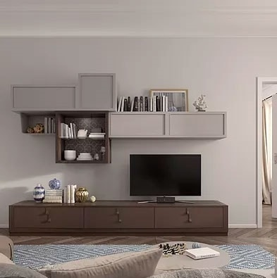 Flor comp. 47 F25, Modular furniture for living room