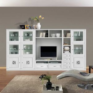 Giorgia GIORGIA3064, Modular equipped wall in classic style