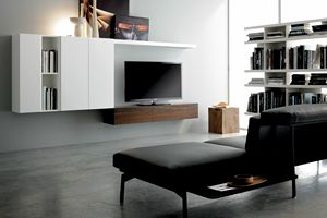 GRAPHOS 135, Wall unit system for living rooms