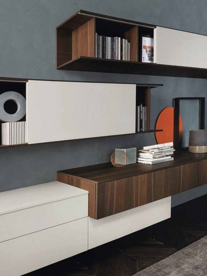 Lampo L5C15, Equipped wall for living room