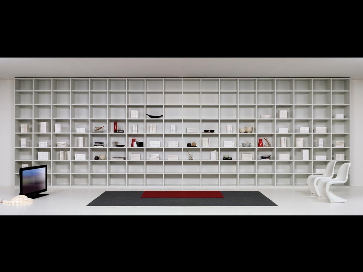 Library Day 04, Modular furniture for living room, modules of various shapes
