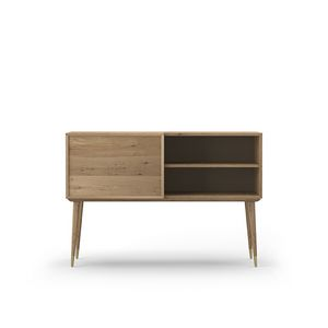 Sideboard Coco 030/1, Oak sideboard with door and drawers