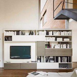 Modo M5C56, Bookcase with flap top