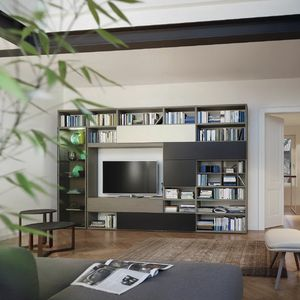 Modo M5C62, Modular bookcase, modern design