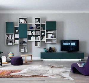 Modo M5C75, Hanging bookcase for living room