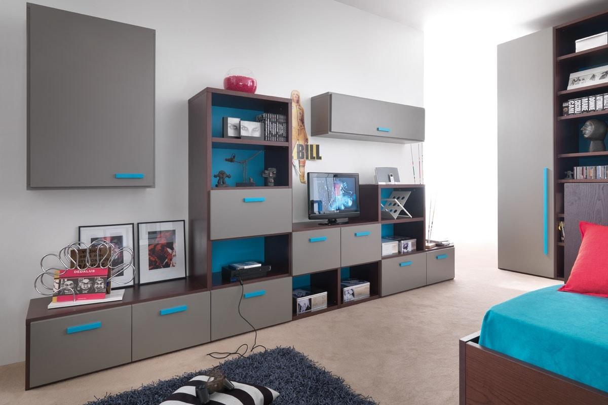 Modulari comp.01, Modular bookcase