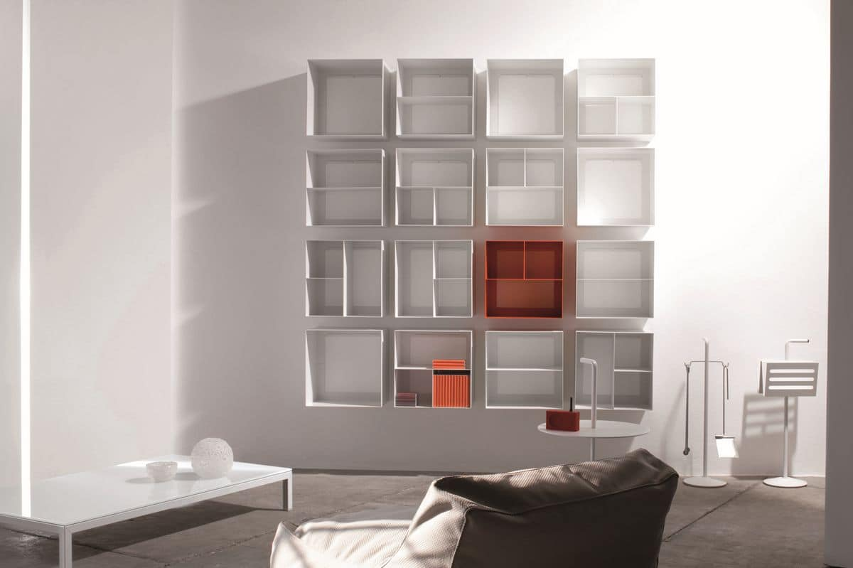 Overtime, Containers elements ideal for living rooms, kitchens and bar