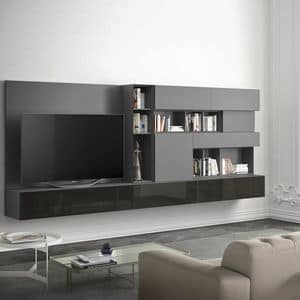People P213, Living room furniture with horizontal and vertical modules