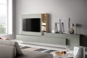 People P214, Wall system for modern living, in wood
