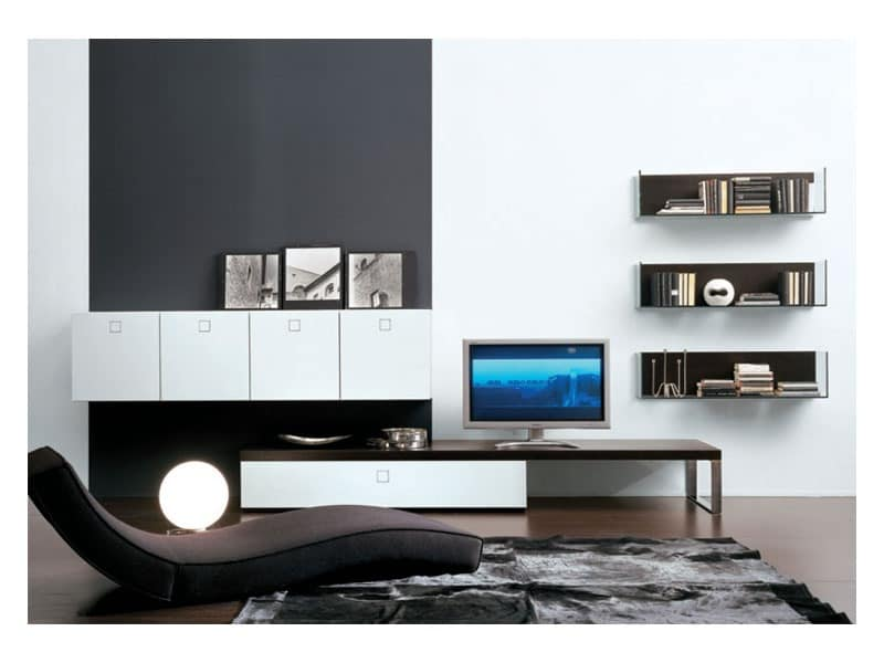 SEVENTY DAY comp.01, Modular storing unit for living room