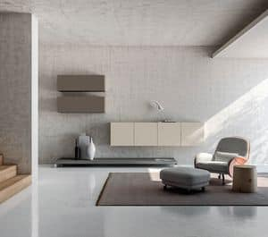 SEVENTY DAY comp.09, Furniture for living rooms, modular containers furniture