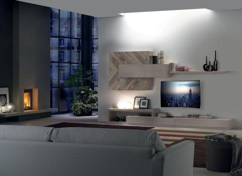 Spazio Contemporaneo SPAZ02, Modular living room furniture