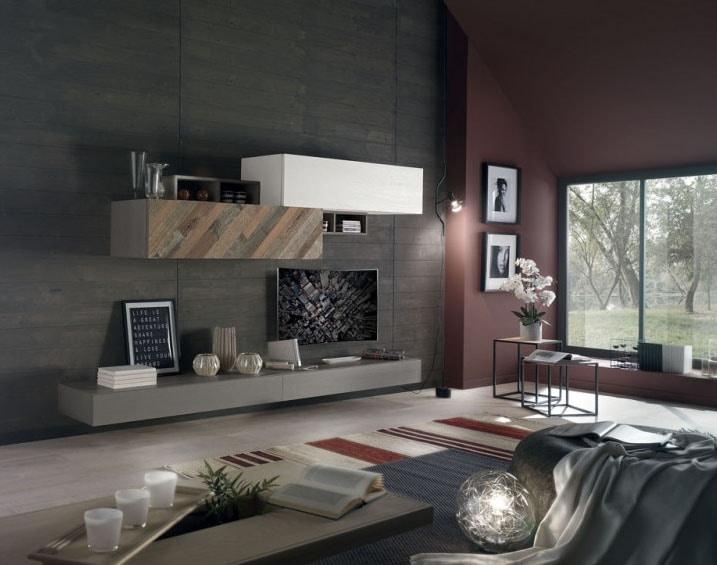 Spazio Contemporaneo SPAZ11, Furniture for modern living room