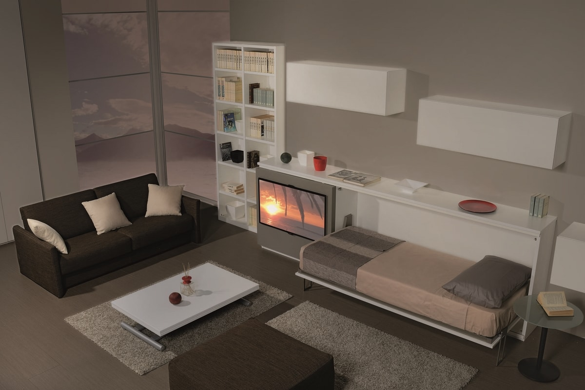 Surf LS441, Living room furniture, with foldaway bed
