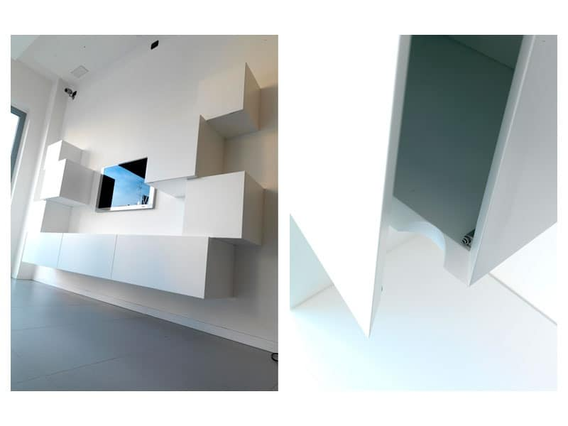 Trealcubo comp.01, Modular system for furniture