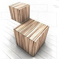 Trealcubo comp.05, Modular system for furniture